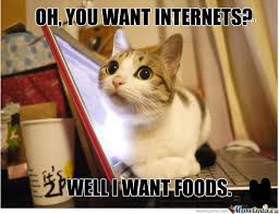 Internets Meme - oh you want internets well i want foods meme boomsbeat