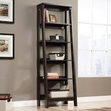 5 shelf bookcase in jamocha wood 414602