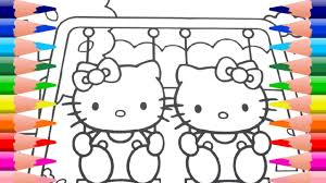 hello kitty coloring book creative kids art learn colors hello