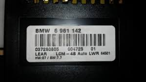 lcm what part number is this e39 1996 2004 bmw 5 series