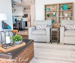Living Room Bonus - plans and progress on my modern farmhouse beach living room an