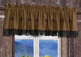 Western Window Valance Texas Pillows Curtains Valances And More