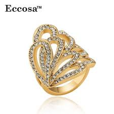 big rings images Eccosa latest gold ring designs big ring friendship band for girls jpg