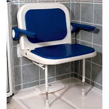 akw extra wide padded shower seat w back u0026 arms