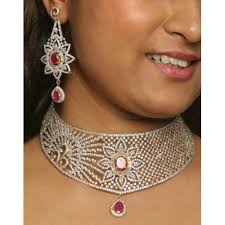 diamond necklace collection images Diamond necklace set heere ke haar ka set sarah collection jpg