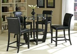 bar top table and chairs bar height pub table sets awesome round bar top table dining room