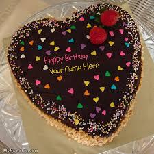 write name on birthday cake for girlfriend happy birthday cake