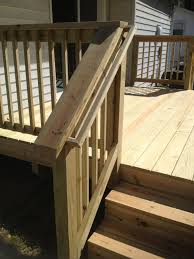 gorgeous deck stairs designs with railing home railing inspirations