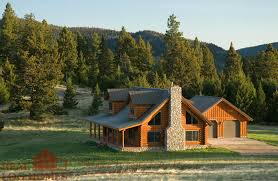 log style homes montana cabin floor plan by real log homes