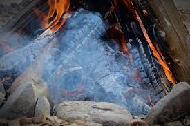 free images rock smoke formation ice flame fireplace