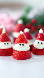 best 25 strawberry santas ideas on pinterest fruit skewers