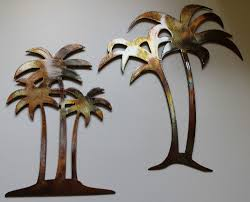 epic palm tree metal wall 40 for baseball canvas wall with