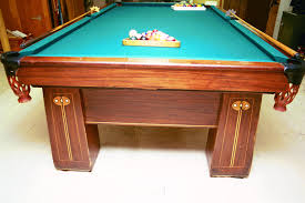 brunswick mission pool table wts wtt or antique pool table circa 1910 s brunswick balke and
