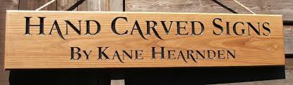 hand carved house signs lettering numbers business signs boat
