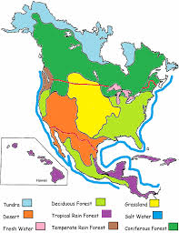 biomes map biomes of america biome adventure travel the national