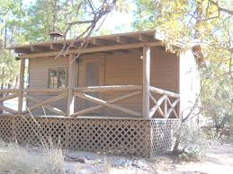 tiny forest service cabin for sale in willow canyon arizona