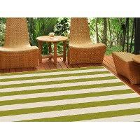 Stripe Indoor Outdoor Rug 5 X 7 Medium Green Stripe Indoor Outdoor Rug Garden City Rc