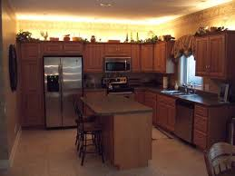 how to finish the top of kitchen cabinets lighting above kitchen cabinets kitchen led spotlights ceiling over