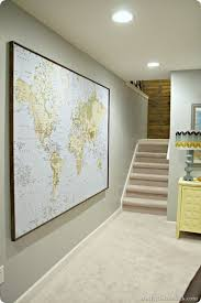 Large Wall Decor Ideas For Living Room Best 25 Giant World Map Ideas On Pinterest World Map On Wall