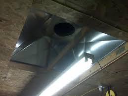 exhaust fan for welding shop welding smoke and oil smoke removal