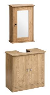 oak bathroom sink vanity units features gray stained wooden wall