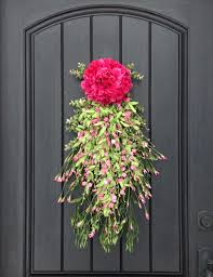 front door gorgeous spring front door wreath for home design