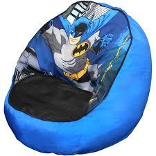 warner bros batman toddler bean bag chair walmart com