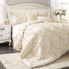 the avery hotel collection ruffle comforter bedding set ruffled