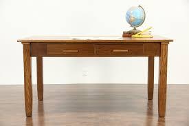 Oak Corner Office Desk Desk Office Computer Desk Small Oak Desks Writing Tables Oak