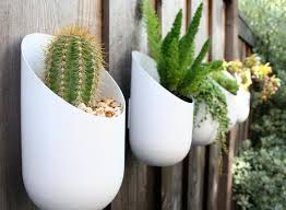 Modern Hanging Planters Best 25 Outdoor Wall Planters Ideas On Pinterest Succulent Wall