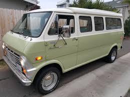 van ford bangshift com this restored 1970 ford econoline pop top camper van