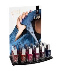 display of i lak mini semi permanent nail lacquers u2013 autumn 2017