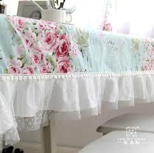 Shabby Chic Floral Curtains by Shabby French Country Provincial Cottage Chic Floral Blue Table