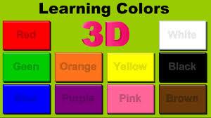 Orange Colors Names Learning Colors For Preschool Kids Learning Videos Let U0027s Learn