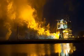 nasa u0027s space launch system engine testing heats up nasa