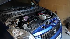 2006 suzuki swift fitted with k u0026n induction kit youtube