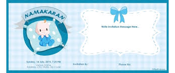 Design Birthday Cards Online Free Enchanting Naming Ceremony Invitation Card 38 With Additional