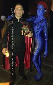 Mystique Halloween Costume Coolest Homemade Mystique Men Costume Jade Thirlwall