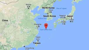 Sea Of Japan Map Chinese Ships Sail Near Disputed Japanese Islands
