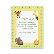 Thank You Cards For Baby Shower Gifts - terrific baby shower hostess thank you note 49 on unique baby