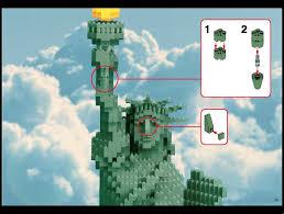 lego lego statue of liberty instructions 3450 advanced models