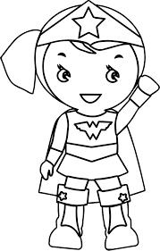 woman kid batman coloring wecoloringpage