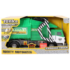tonka mighty motorized fire truck tonka mighty motorised rubbish truck 3 years costco uk