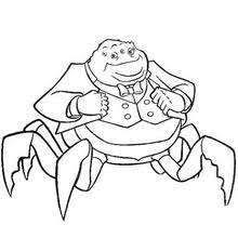 randall mike monster coloring pages kids