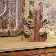annie mo u0027s teak wood collection table top wine rack