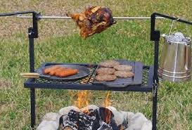 Fire Pit Rotisserie by Premier Firewood Companyuse Your Fire Pit As A Wood Fired Grill