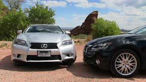 lexus gs 350 awd 2013 2013 lexus gs 350 vs gs450h 0 60 mph mashup review