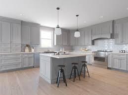 wood kitchen cabinets with grey walls salem light grey