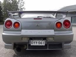 nissan almera y reg nissan skyline gt t r34 myydään huutokaupalla coupé 1999 used