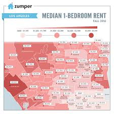 Pink Line Chicago Map by Mapping Los Angeles Rent Prices This Fall September 2016 The